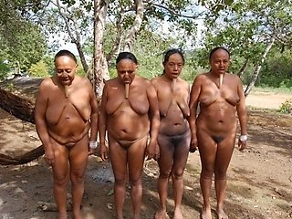 The naked women in africa